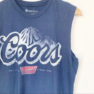 Other - Coors Graphic Muscle Tank Unisex M